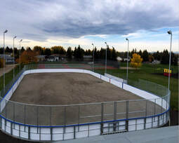 Outdoor Rink Boards